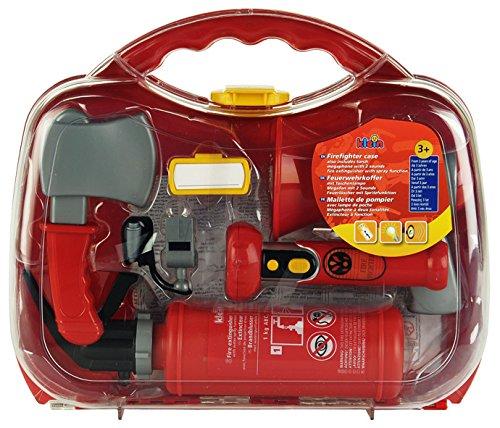 Theo Klein 8982 - Feuerwehr-Koffer, groß, Spielzeug