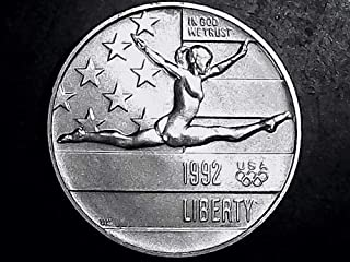 1992 liberty half dollar olympic
