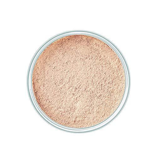 ARTDECO Mineral Powder Foundation, Puder Make up, Nr. 3, soft ivory