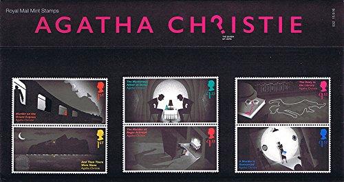 2016Agatha Christie–La Regina del Crimine, presentazione pp505stampato (n. 532)–Francobolli Royal Mail