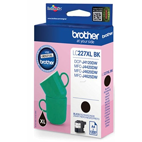 Brother original - Brother MFC-J 4625 DW (LC-227 XL BK BP) - Tintenpatrone schwarz - 1.200 Seiten - 25ml