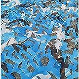 Camo Netting, Camuflaje Tienda 9.8x13.1 Pies para Acampar Disparando Caza, Decoración De La Fiesta Temática Militar Y Sombra del Sol Al Aire Libre(Size:3x4m/9.8x13.1ft,Color:A2)