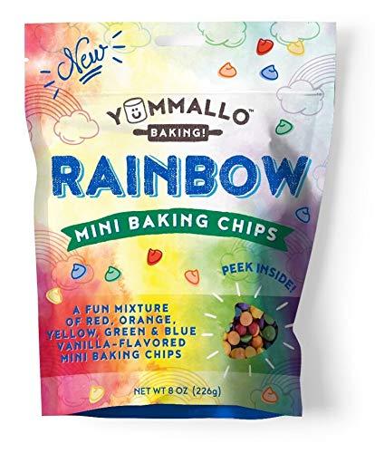 Yummallo Baking Rainbow Mini Baking Chips