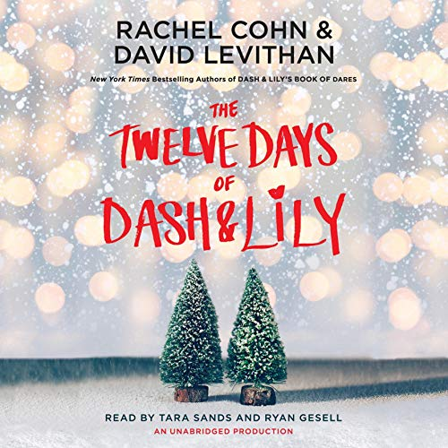 The Twelve Days of Dash & Lily audiobook cover art