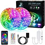 LED Strip,Bonve Pet 12M RGB LED Streifen LED...