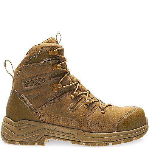 Wolverine Men's Contractor LX WPF Soft-Toe Construction Boot, Coyote, 11 M US