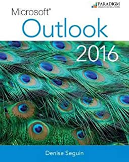 Microsoft (R) Outlook 2016: Text and eBook with 1 year online access