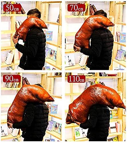 CARWORD Größe Bett Kissen Zum Schlafen Kreativer Hypoallergener Lebensmittel Kissen Plüschtiere, 90Cm