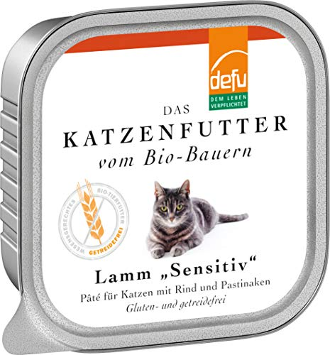 defu Katze Lamm Sensitive Pâté