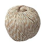 LaPace Premium Yarns 100% Organic Cotton 100% Natural Dyeing Needlecraft Crochet Yarn Made in South Korea Mixed Color (Indigo Pink White)