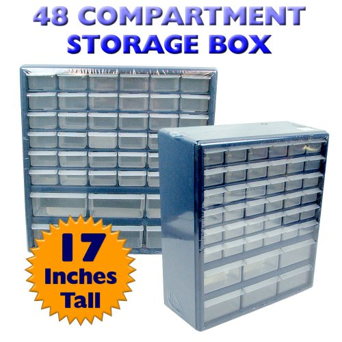Stalwart - ARP11 Deluxe 42 Drawer Compartment Storage Box