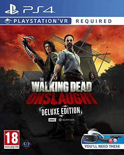 The Walking Dead Onslaught The Golden Weapons Deluxe Pack PS4 VR Requis Exclusivité Amazon - PlayStation 4 [Edizione: Francia]