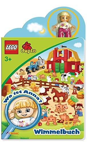 LEGO Duplo - Wo ist Anna? Wimmelbuch: Wimmelbuch mit original LEGO DUPLO Figur
