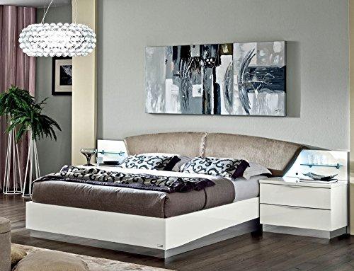 Great Price! Queen Onda Platform Bed | White