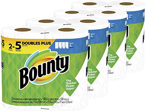 Our #2 Pick is the Bounty Double Plus Paper Towels