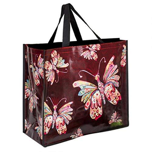 Allen Designs [P5658] - Diseño de Bolsa de Compras 'Allen Designs' Mariposas...