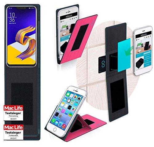 Hülle für Asus Zenfone 5z ZS620KL Tasche Cover Hülle Bumper   Pink   Testsieger