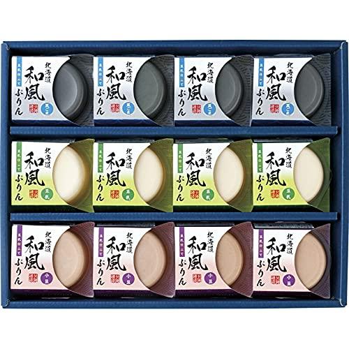 北海道和風ぷりん(豆乳仕立て) HWP-12[tr]【お歳暮ギフト のし対応可 通販パーク】