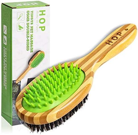 Dog Bathing Brush Dog Shampoo Brush for Massage Dog Scrubber Cat Brushes for Grooming with Pin product image