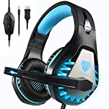 Butfulake Pro Stereo Gaming Headset for Xbox One, Xbox One S, PS4, PC