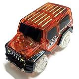 Nigoz - Mini coche eléctrico de carreras con luz LED para niños, juguete rojo rentable y de buena calidad, práctico y rentable