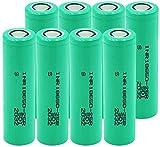 Batería De Iones De Litio D De 3,7 V 2500 Mah Inr18650 25R 20A Li Pilas De Corriente De Descarga De Repuesto Recargables