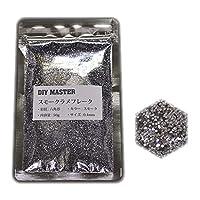 DIY MASTER スモークシルバー ラメフレーク 0.4mm 50g