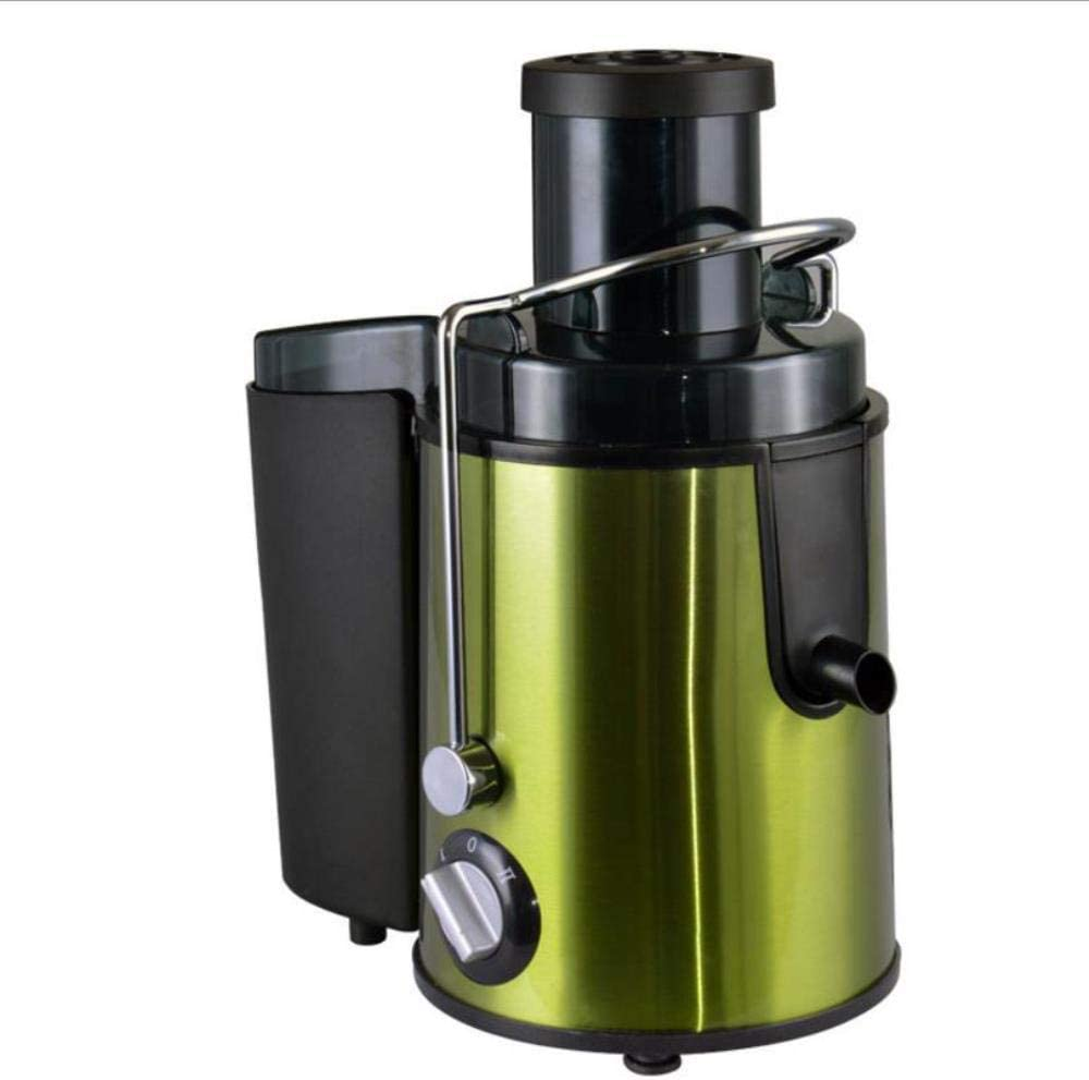SNV Juice Extractor New Slow Juicer Fruits Vegetable Low Speed Juice Extractor Household Juicers Machine 220v-240V Electric,Green AU Plug Green Au Plug