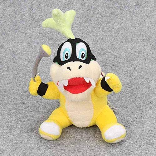 NC518 3pcs / Set 15-20cm Super Mario Bros Plush Toys Wendy Larry Iggy Ludwig Roy Morton Lemmy O. Koopa Soft Stuffed Doll