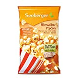 Seeberger Mikrowellen-Popcorn karamell ohne Palmöl, 25er Pack (25 x 90 g)