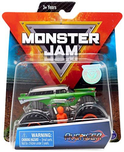 MJ Monster Jam 1:64 Scale Avenger with Figure