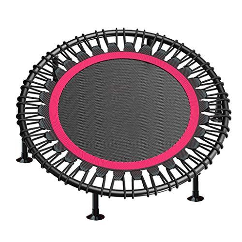 40 Inch Adult Indoor Fitness Trampoline - Mini Trampoline - Springdoek Diameter: 73cm - Opvouwbaar - Kan 150kg weerstaan