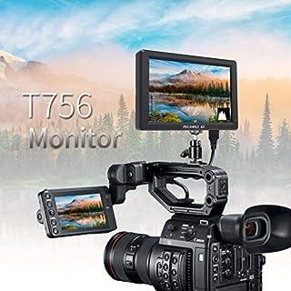 "SIZOO - Photo Studio Accessories - Feelworld ST-T756 4K camera External display HDMI HD monitor video TFT field 7"" inch DS..."