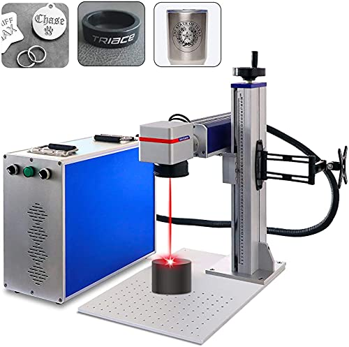 Macchina per la marcatura laser in fibra Raycus 50W / 30W / 20W Laser Engraver Machine per strumento di incisione laser in metallo (raycus 50w 110v, 110x110mm)