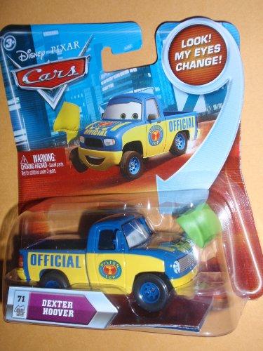 I had a Disney Cars Mini Car / Dexter Hoover DEXTER HOOVER green flag! (Eyes move! 2010 LOOK!) (japan import)