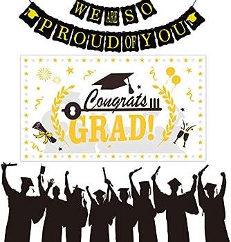 Ayestar Graduation Decorations 2021 Graduation Party Supplies Banner