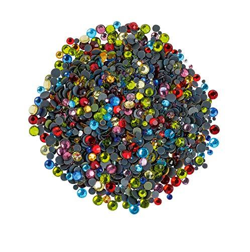 Strass, 1400 pc. Multicolore