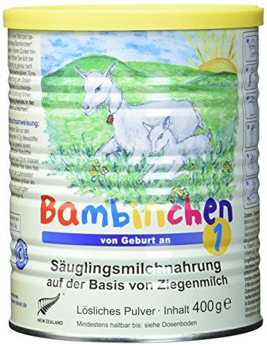 Bambinchen 1 Säuglingsmilchnahrung, von Geburt an, 3er Pack (3 x 400g)
