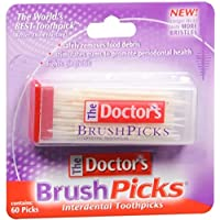 60-Count The Doctor's BrushPicks Interdental Toothpicks