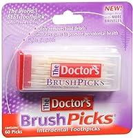The Doctor's Brushpicks 60の各(12パック) 12のパック