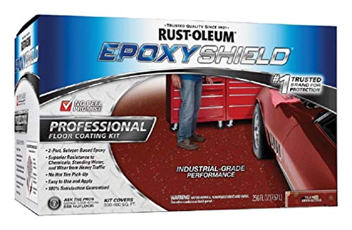 Epoxyshield 238468 Professional Floor Coating Paint Kit, Tile Red