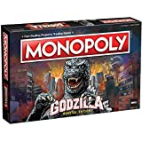 Monopoly Godzilla | Based on Classic Monster Movie Franchise Godzilla | Collectible Monopoly Game Featuring Familiar Locations and Iconic Kaiju Monsters