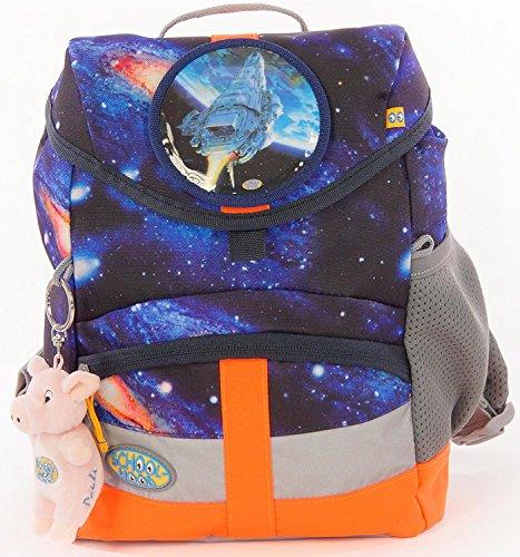 School-Mood Kindergartenrucksack Kiddy Galaxy Raumschiff Galaxy