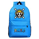 XYUANG One Piece Monkey·D·Luffy Starry Sky Color Casual Vintage Laptop Backpack Fashion Travel Bag Vintage Business Work Computer-M