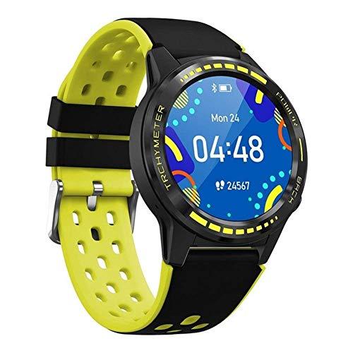 Exquisito, hermoso, decente, novedoso y único. Smart Watch, 1.3 pulgadas IPS 240 * 240 Resolución Touch Pantalla redonda completa IP67 Reloj deportivo a prueba de agua Soporte Tarjeta SIM Tarjeta Blue