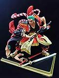 N / A Amigo Modelo Regalo Regalo Figurilla Coleccionable Modelo Barba Blanca Osized Estatua Luffy Cuarta Marcha Grande Mono Rey Sauron Y País De Robin Ace-Kabuki Sauron Flujo/Altura 24cm