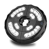 Lámpara para Sombrilla, Eletorot 28 LED 400 Lúmenes 3 Modos Luz Parasol de Patio USB Recargable Luces Sombrillas y Paraguas para Cámping, Patio, Playa,Jardín y Piscina (Blanco)