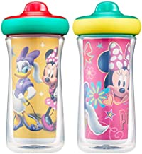 The First Years Disney Minnie Mouse Insulated Hard Spout Sippy Cups, 9 Ounce (Pack of 2)