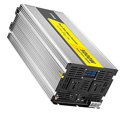 WOCTP 5000W Puro SINE Wave INVERTERIOR CONVERTIDOR DE Potencia High Power Inverter Home Inverter Power Fuente de alimentación DC24V-AC220V