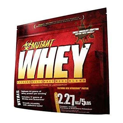 Mutant Mutant Whey - 2,27 kg Triple Chocolate: Amazon.es ...